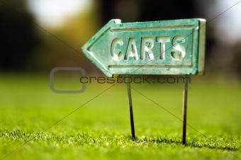 Carts sign