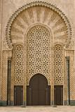 Moroccan mosque door