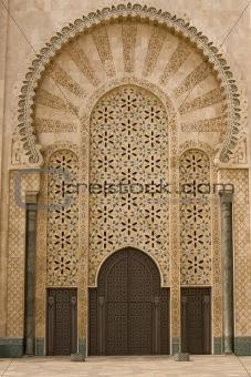 Moroccan mosque door & Image 3904623: Moroccan mosque door from Crestock Stock Photos