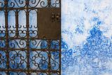 Moroccan iron gate