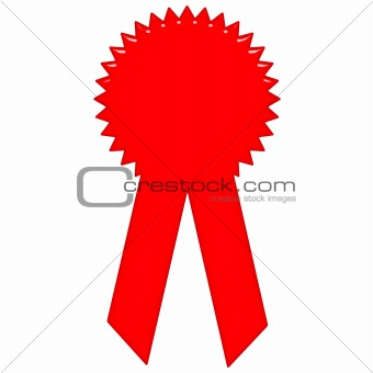 3D Award Ribbon