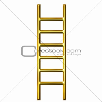 3D Golden Ladder