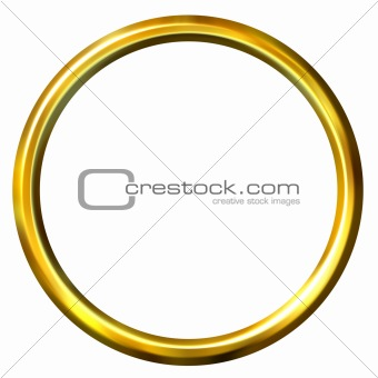 3D Golden Ring
