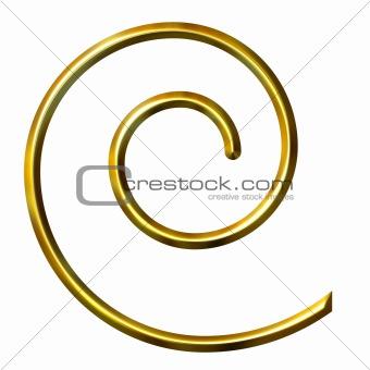 3D Golden Spiral