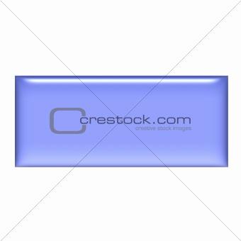 3D Purple Gel Square Button