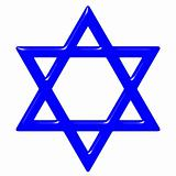 3D Star of David