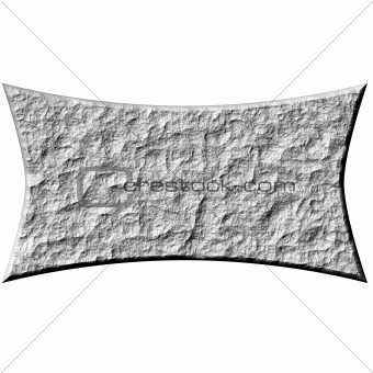 3D Stone Banner