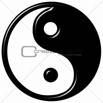 3D Tao Symbol