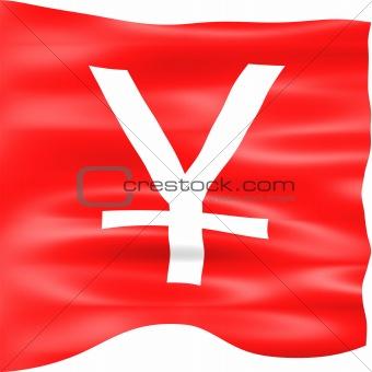 3D Yen Flag