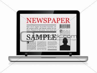Online newspaper