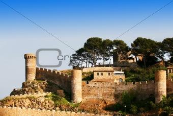 Castle in Tossa