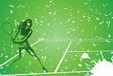 tennis illustration