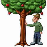 farmer and the tree
