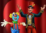 entertainer and clown