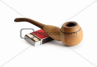 Tobacco Pipe And Matches