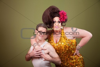 Drag Queen and Nerd