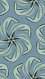Seamless Squid Pinwheel