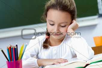 Reading pupil