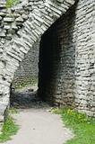 passage into the fortress wall