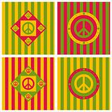 cute peace backgrounds