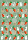 rabbits and  carrots