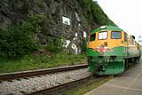 Historic Train - Skaguay, Alaska, USA