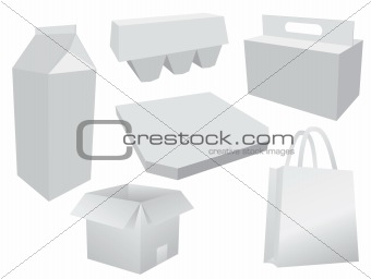 Food box layout