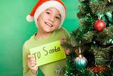 Santa lad