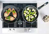 Cooking fish dish