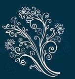 spring floral twig