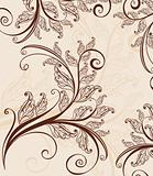 seamless vintage floral background