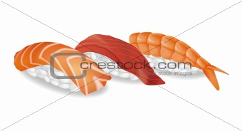 Sushi vector