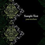 Abstract seamless stylish pattern