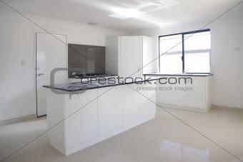 kitchen being built