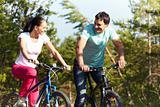 Mate on bikes