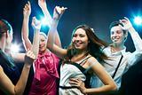 Energetic dancers