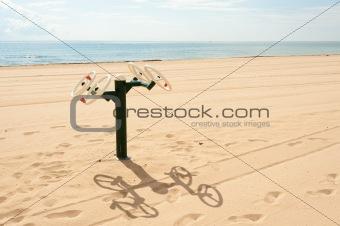 Fitness machine outdoors