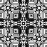 Seamless geometric op art pattern.