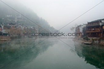 China river landscape