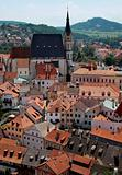 Center of Cesky Krumlov, Czech Republic
