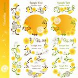 Dandelion design elements