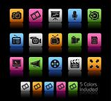 Multimedia Icons // Colorbox Series