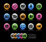 Multimedia Icons // Gelcolor Series