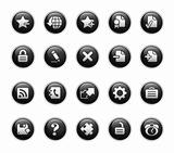 Web 2.0 Icons // Black Label Series