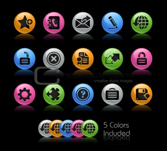 Web 2.0 Icons // Gelcolor Series