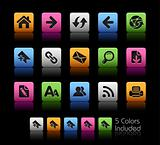 Web Navigation Icons // Colorbox Series