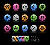 Web Navigation Icons // Gelcolor Series