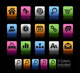 Web Site & Internet Icons // Colorbox Series