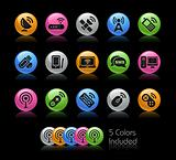 Wireless &amp; Communications Icons // Gelcolor Series