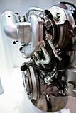 Engine inside view